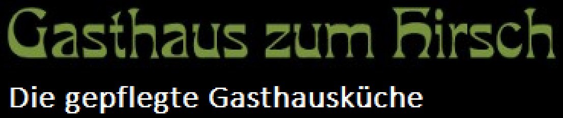 Gasthaus zum Hirsch